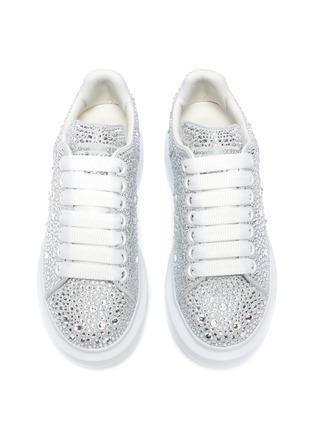 Figure View - Click To Enlarge - ALEXANDER MCQUEEN - 'Oversized sneakers' in strass