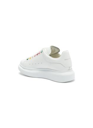 - ALEXANDER MCQUEEN - 'Larry' rainbow eyelet oversized sneakers
