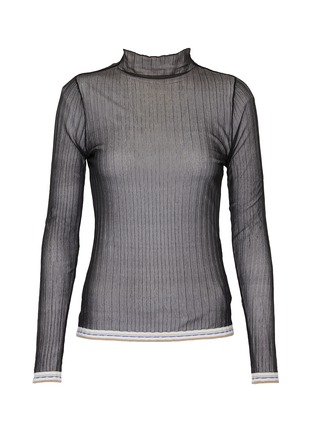 Main View - Click To Enlarge - EQUIL - Sheer turtleneck top
