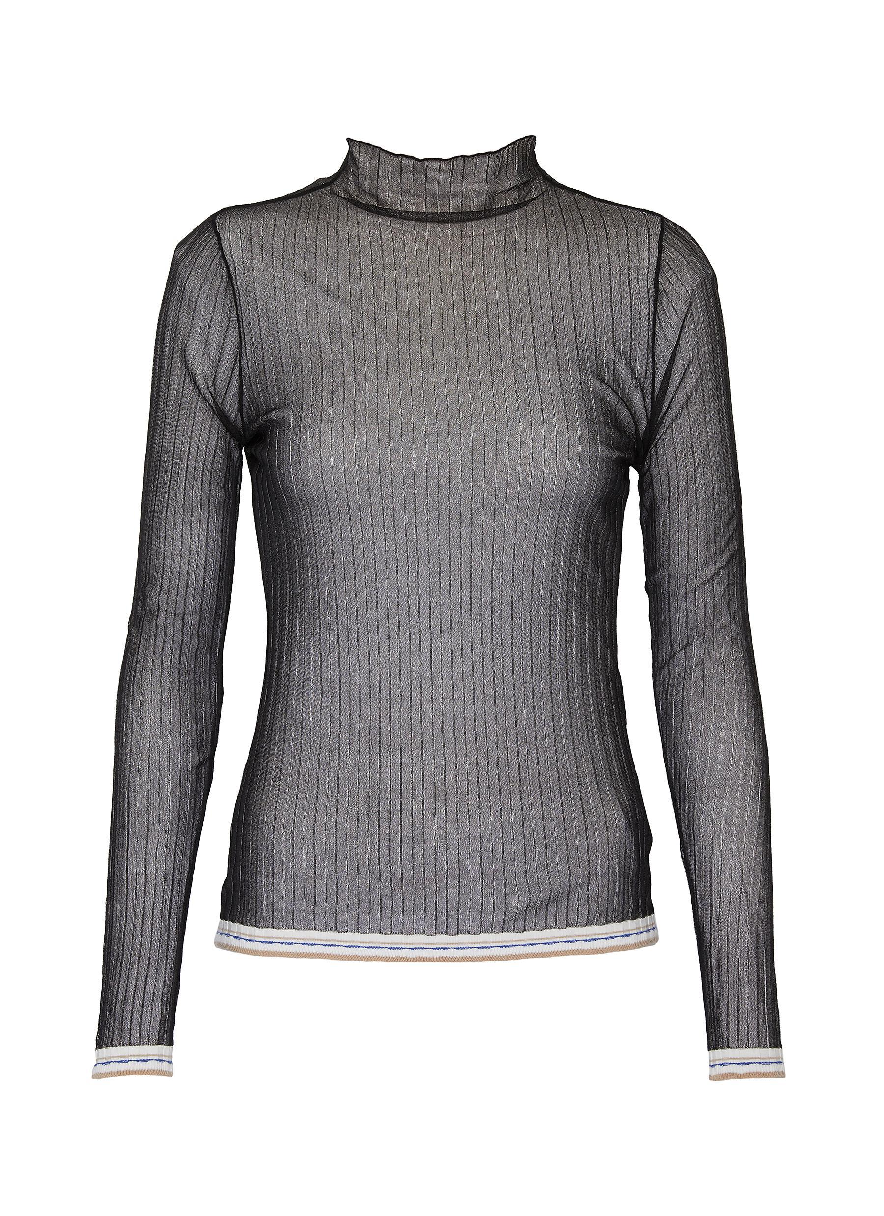 shop Equil Sheer turtleneck top online