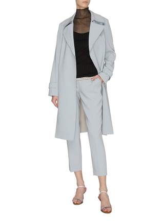 Figure View - Click To Enlarge - EQUIL - Sheer turtleneck top