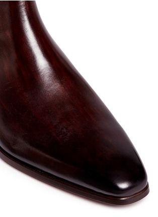 Detail View - Click To Enlarge - MAGNANNI - Leather Chelsea boots