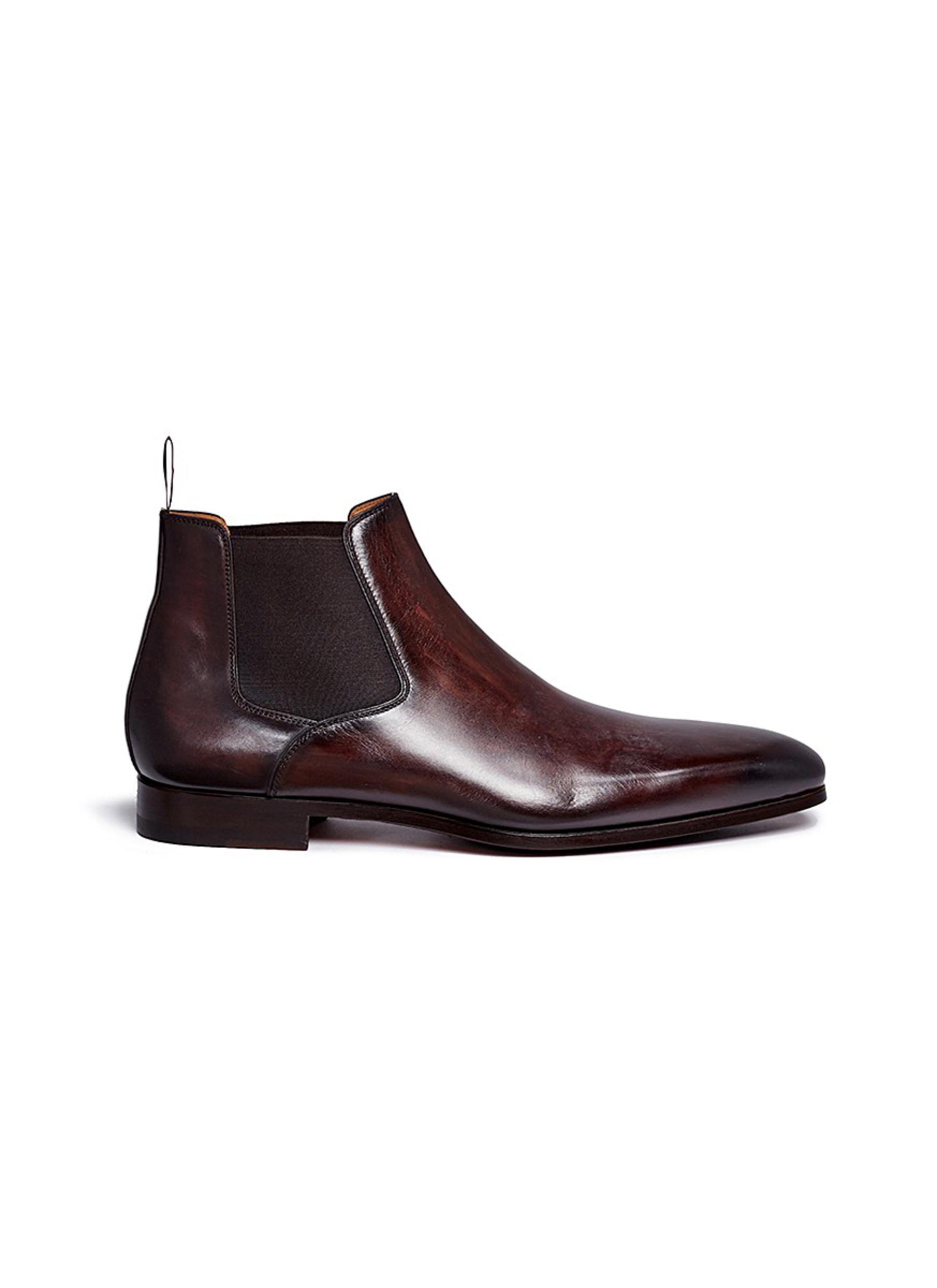 Leather Chelsea boots - MAGNANNI - Modalova