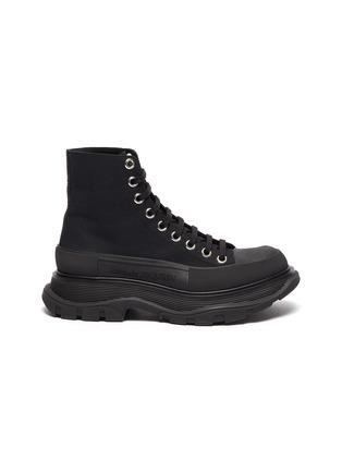 Main View - Click To Enlarge - ALEXANDER MCQUEEN - 'Tread Slick' boots