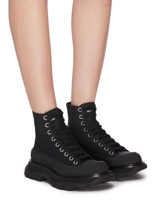 Figure View - Click To Enlarge - ALEXANDER MCQUEEN - 'Tread Slick' boots