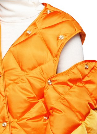 Detail View - Click To Enlarge - ACNE STUDIOS - 'Baltimore Down' convertible quilted puffer coat