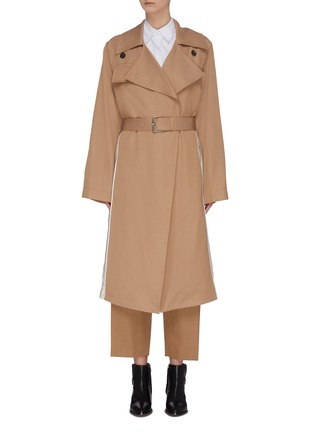 Main View - Click To Enlarge - PLAN C - Slash Back Trench Coat
