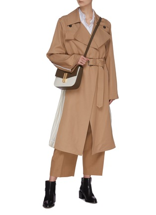 Figure View - Click To Enlarge - PLAN C - Slash Back Trench Coat