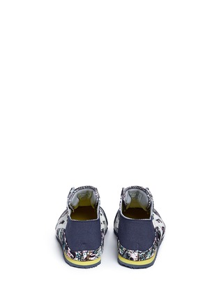 Back View - Click To Enlarge - Onitsuka Tiger - 'Mexico 66 Paraty' floral print laceless sneakers