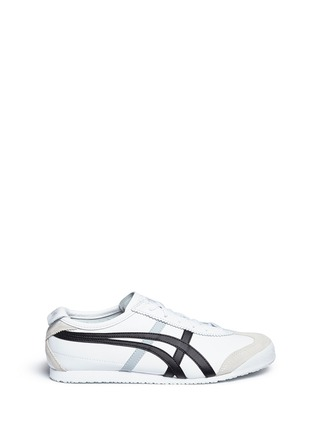 Main View - Click To Enlarge - ONITSUKA TIGER - 'Mexico 66' stripe leather sneakers