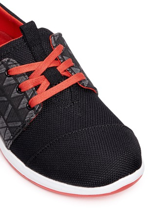 Detail View - Click To Enlarge - 90175 - Youth Del Rey zigzag panel kids sneakers