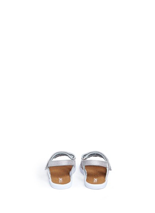 Back View - Click To Enlarge - 90175 - Tiny Huarache toddler slingback sandals