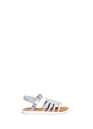 Main View - Click To Enlarge - 90175 - Tiny Huarache toddler slingback sandals