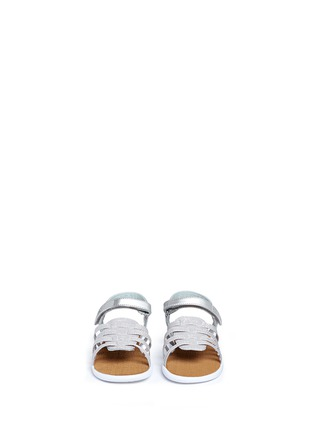 Figure View - Click To Enlarge - 90175 - Tiny Huarache toddler slingback sandals