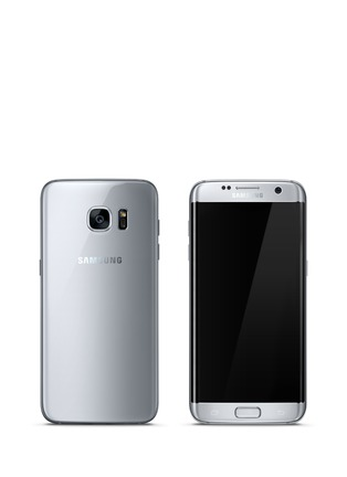 Main View - Click To Enlarge - SAMSUNG - Galaxy S7 Edge 32GB - Silver Titanium