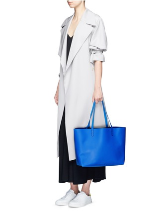 Figure View - Click To Enlarge - Mansur Gavriel - Large leather tote