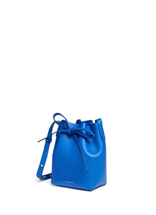 Front View - Click To Enlarge - MANSUR GAVRIEL - Mini mini leather bucket bag
