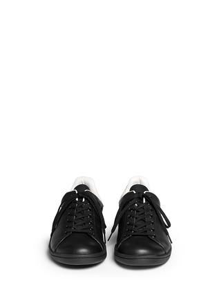 Figure View - Click To Enlarge - Isabel Marant Étoile - 'Bart' leather sneakers