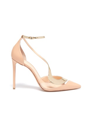 Main View - Click To Enlarge - NICHOLAS KIRKWOOD - S panelled metallic leather pumps