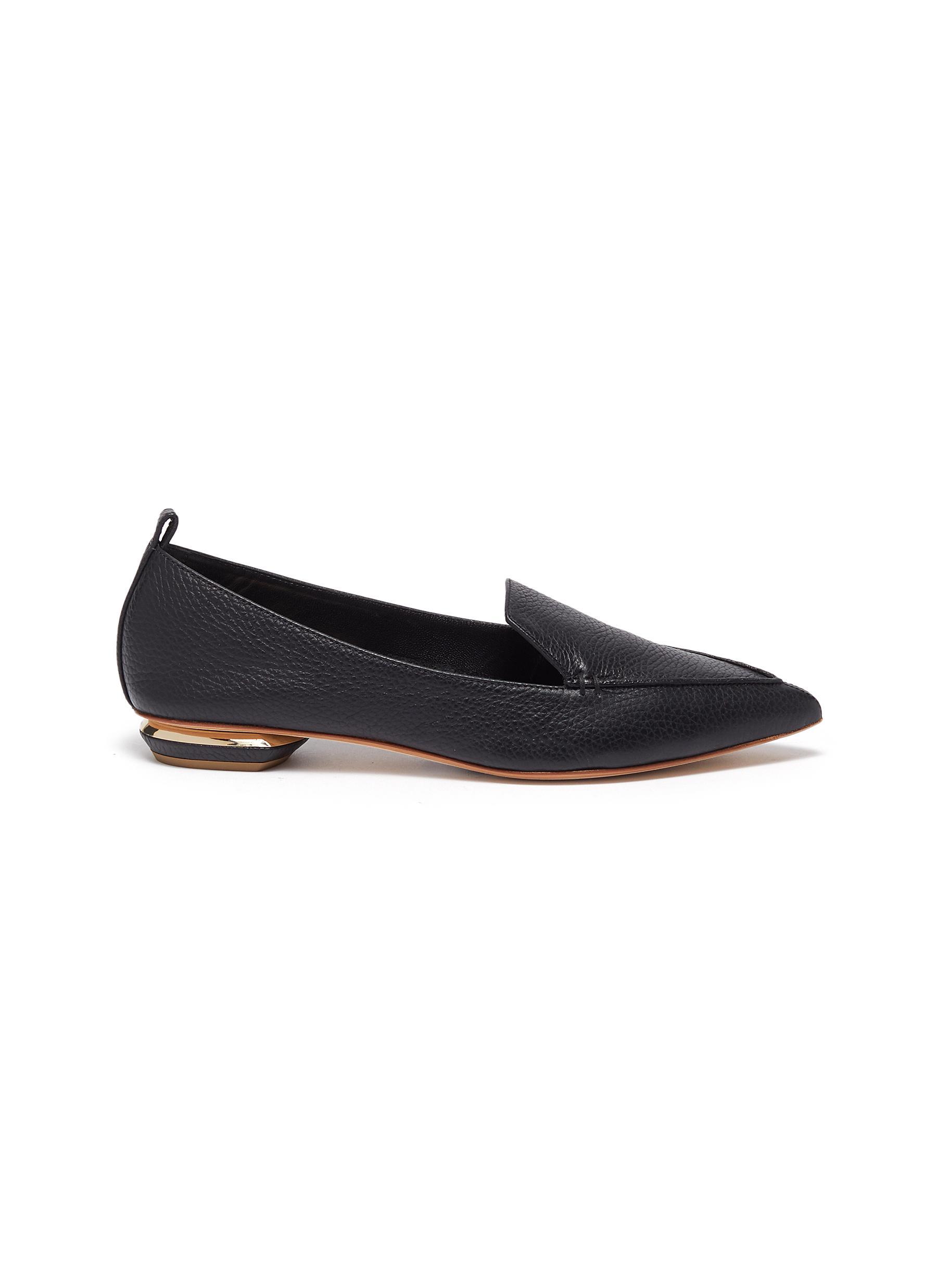 Nicholas Kirkwood Flats Beya panelled loafers