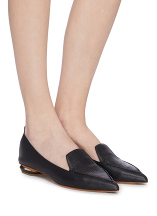 Figure View - Click To Enlarge - NICHOLAS KIRKWOOD - Beya' panelled loafers