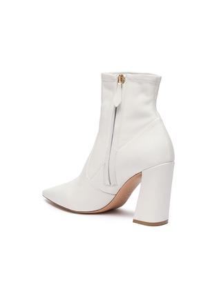 - NICHOLAS KIRKWOOD - 'Miri' leather faux pearl embellished knee high boots