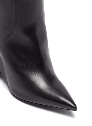 Detail View - Click To Enlarge - NICHOLAS KIRKWOOD - 'Jazzelle' structural heel ankle boots