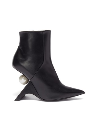 Main View - Click To Enlarge - NICHOLAS KIRKWOOD - 'Jazzelle' structural heel ankle boots