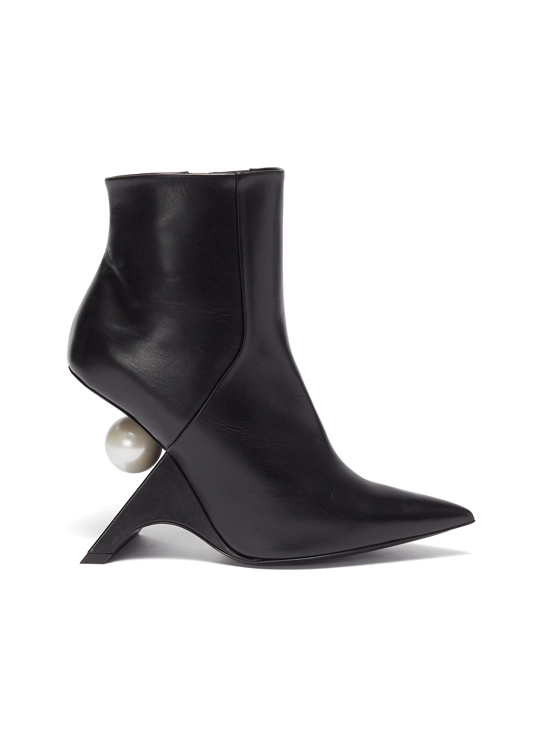 Nicholas Kirkwood Boots Jazzelle structural heel ankle boots