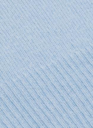 - VINCE - Marled Wool V-Neck Sweater