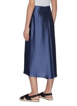 Back View - Click To Enlarge - VINCE - Silk Slip Skirt