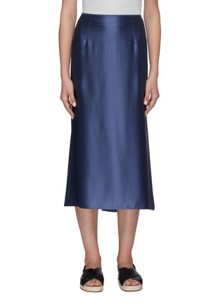 Main View - Click To Enlarge - VINCE - Silk Slip Skirt