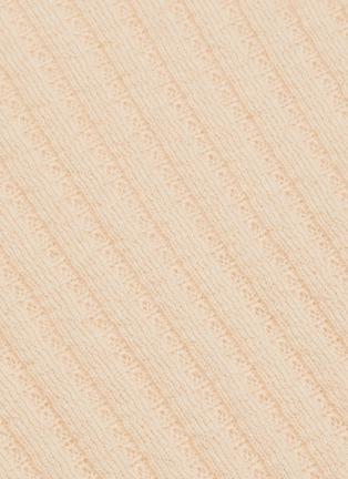 - VINCE - Microstripe Cashmere Sweater