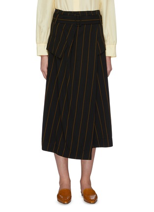 Main View - Click To Enlarge - VINCE - Stripe Utility Skirt