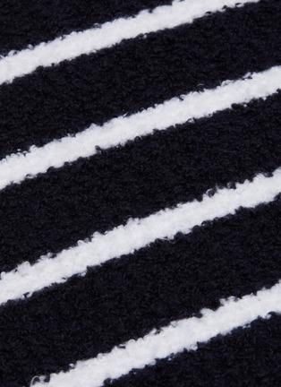 - VINCE - Stripe Waffle Stitch Sweater