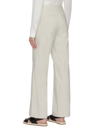 Back View - Click To Enlarge - VINCE - High waist straight leg pants