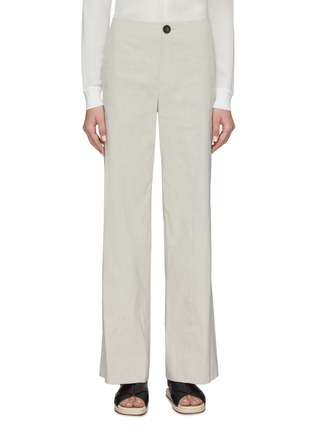 Main View - Click To Enlarge - VINCE - High waist straight leg pants