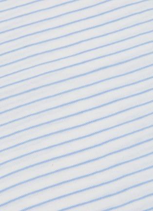 - VINCE - Pencil stripe cotton T-shirt