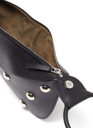 Detail View - Click To Enlarge - EMMA CHARLES - 'Lady Gwen' Stud Embellished Medium Dumpling Bag