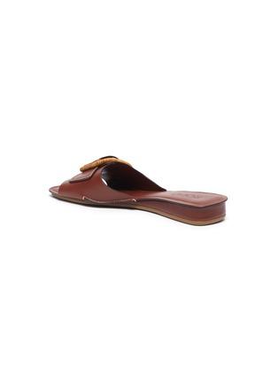 - RODO - Wicker buckle leather sandals