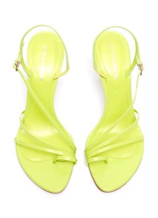 Detail View - Click To Enlarge - NICHOLAS KIRKWOOD - 'Elements' leather sandals