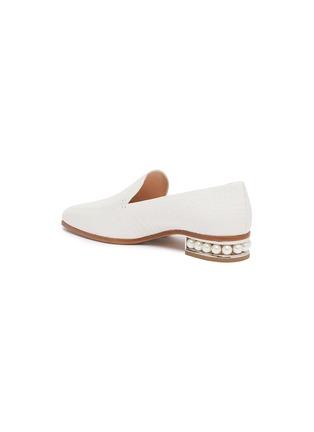 - NICHOLAS KIRKWOOD - 'Casati' faux pearl heel moccasins