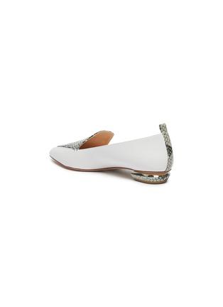 - NICHOLAS KIRKWOOD - 'Beya' python print leather loafers