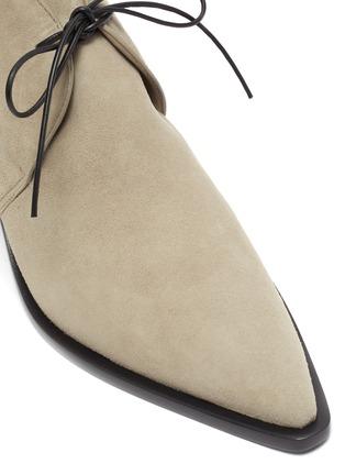Detail View - Click To Enlarge - MERCEDES CASTILLO - 'Karington' suede ankle boots
