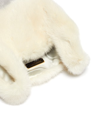 Detail View - Click To Enlarge - SIMONETTA RAVIZZA - 'Furrissima Baby' mink fur sac bag