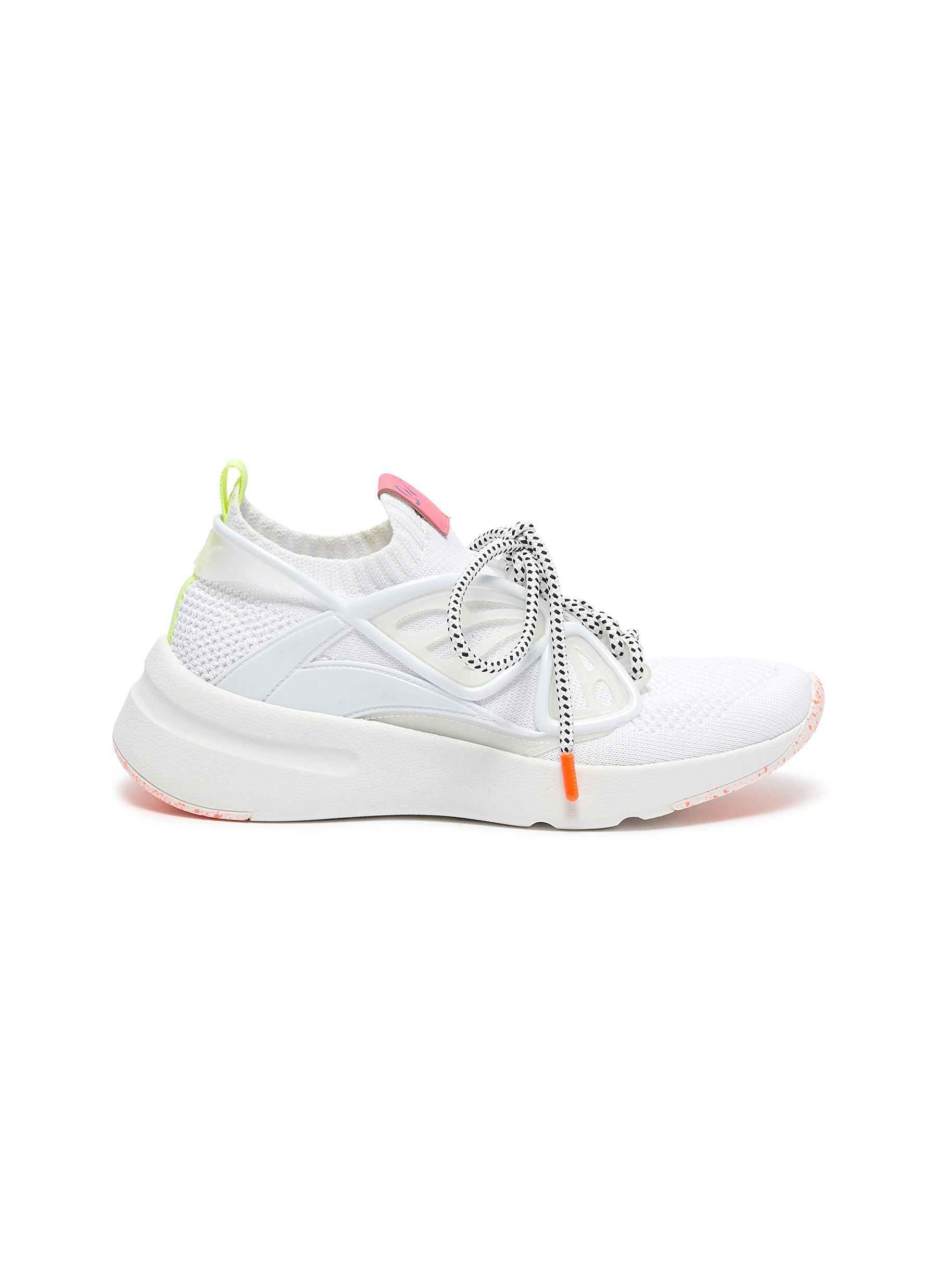 Sophia Webster Sneakers Fly By butterfly embellished sneakers