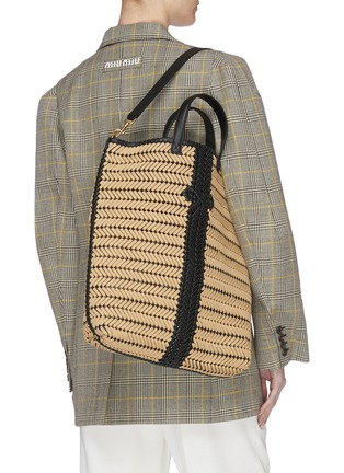 Front View - Click To Enlarge - ANYA HINDMARCH - 'Neeson' leather tote