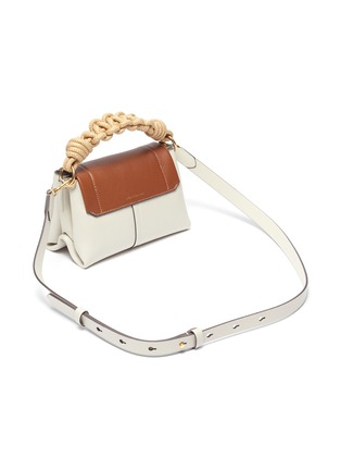 Detail View - Click To Enlarge - ANYA HINDMARCH - Colourblock mini leather bag