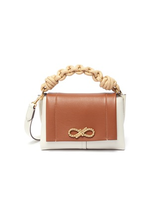 Main View - Click To Enlarge - ANYA HINDMARCH - Colourblock mini leather bag