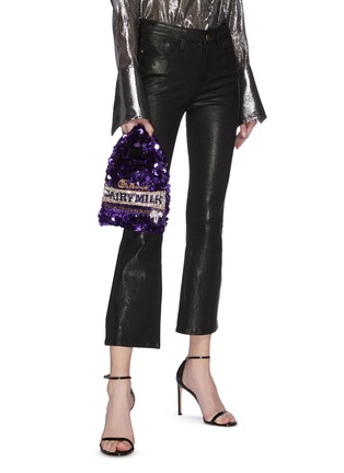 Figure View - Click To Enlarge - ANYA HINDMARCH - 'Dairy Milk' Sequin Mini Tote